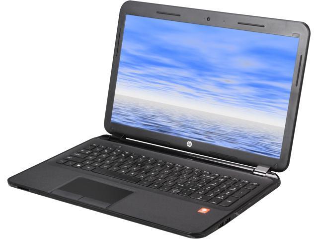 HP Laptop 255 G2 (G4V21LP#ABA) AMD E1-Series E1-2100 (1.00GHz) 2GB Memory 320GB HDD AMD Radeon HD 8210 15.6