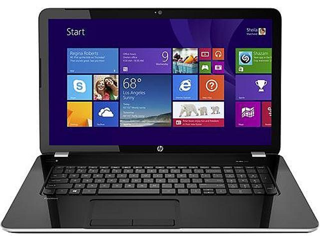 HP Pavilion 17-E118DX (G4X63UAR#ABA) Notebooks AMD A-Series A8-4500M (1.90GHz) 4GB Memory 750GB HDD AMD Radeon HD 7640G 17.3