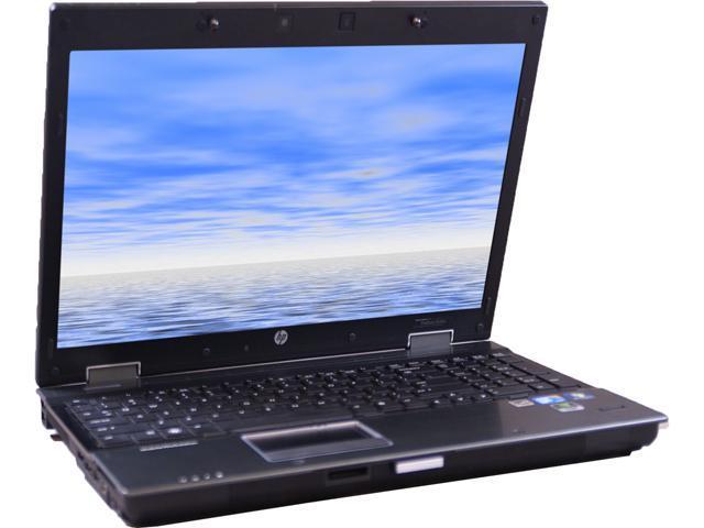 HP 8540W Notebook Intel Core i7 2.67GHz 4GB Memory 500GB HDD 15.6
