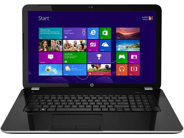 HP Pavilion 17-E109NR (J0Z11UAR#ABA) Notebooks AMD A-Series A8-4500M (1.90GHz) 8GB Memory 1TB HDD AMD Radeon HD 7640G 17.3