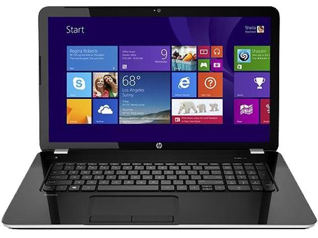 HP Pavilion 17-e117dx (F9J38UAR#ABA) Notebooks Intel Core i3 3130M (2.60GHz) 4GB Memory 750GB HDD Intel HD Graphics 4000 17.3