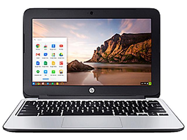 HP 11 G3 (K4J86UA#ABA) Chromebook Intel Celeron N2840 (2.16GHz) 2GB Memory 16GB SSD 11.6