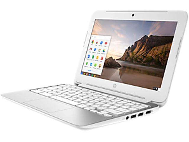 HP 11 G3 (K4J87UA#ABA) Chromebook Intel Celeron N2840 (2.16GHz) 4GB Memory 16GB SSD 11.6