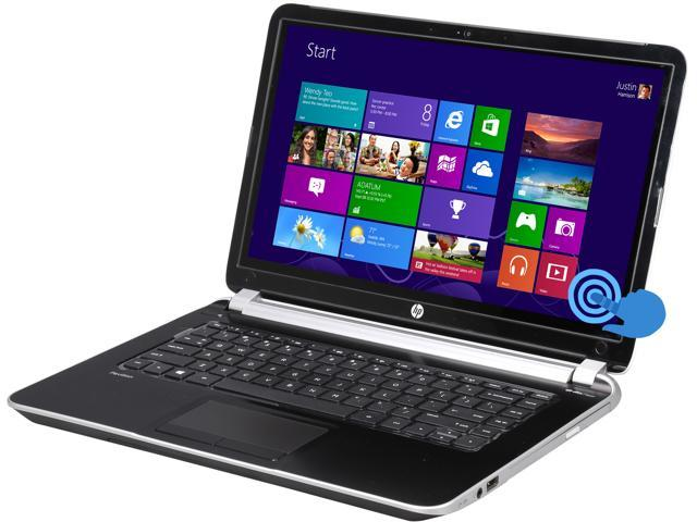 HP Pavilion 14-n018us (E8A80UA#ABA) NotebookAMD A-Series A8-5545M (1.70GHz) 6GB Memory 750GB HDD AMD Radeon HD 8510G 14.0