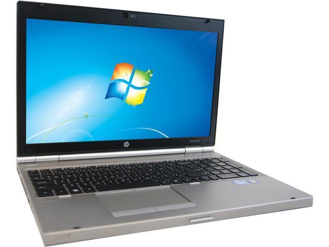 HP 8560P Notebook Intel Core i7 Quad Core 2.20GHz 4GB Memory 750GB HDD 15.6