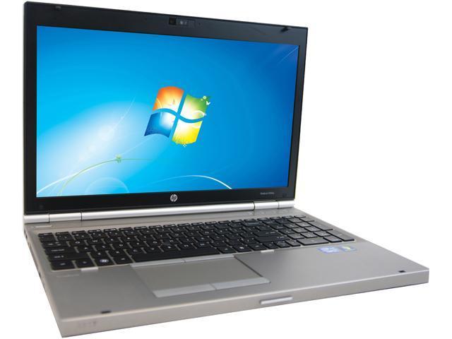 HP 8560P Notebook Intel Core i7 Quad Core 2.20GHz 4GB Memory 256GB SSD 15.6