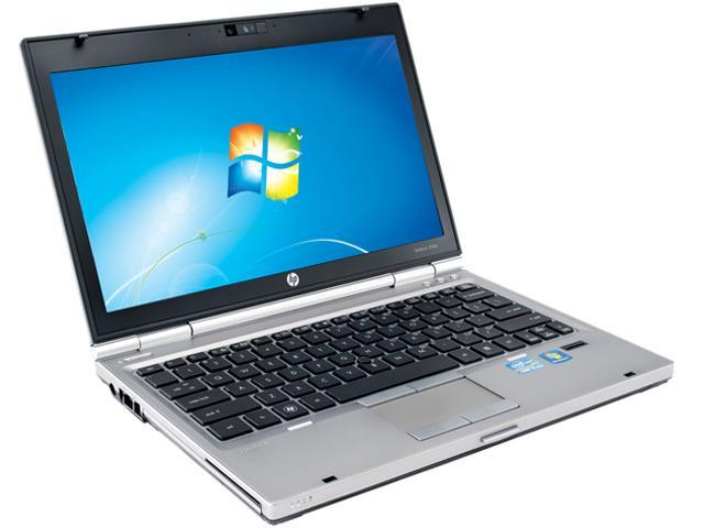 "HP Elitebook 2560P [Microsoft Authorized Recertified] 12.5"" Notebook with Intel Core i5-2520M 2.5Ghz, 4GB RAM, 250GB HDD, DVD/CDRW Combo, Webcam, ..."