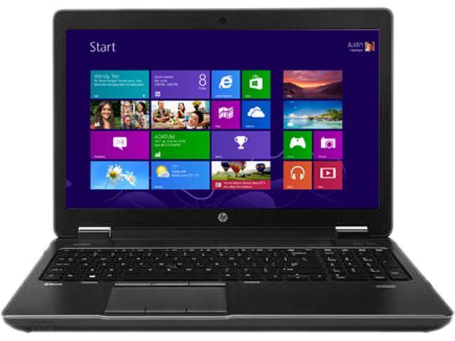 HP ZBook 15 (703230R-999-FRY4) Mobile Workstation Intel Core i7 4800MQ (2.70GHz) 16GB Memory 750GB HDD 32GB SSD NVIDIA Quadro K2100M 15.6