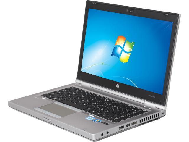 """HP EliteBook 8460p [Microsoft Authorized Recertified] 14"""" Notebook with New Battery: Intel Core I5-540M 2.53Ghz (3.06Ghz Turbo), 4GB DDR3 RAM, ..."""