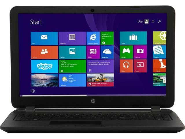 HP Laptop 15-F039WM Intel Celeron N2830 (2.16GHz) 4GB Memory 500GB HDD Intel HD Graphics 15.6