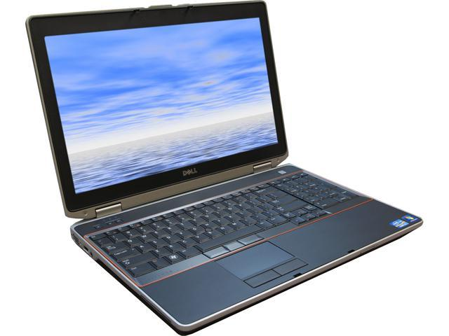 DELL E6520 Notebook Intel Core i7 2.20GHz 4GB Memory 320GB HDD Intel HD Graphics 3000 15.6