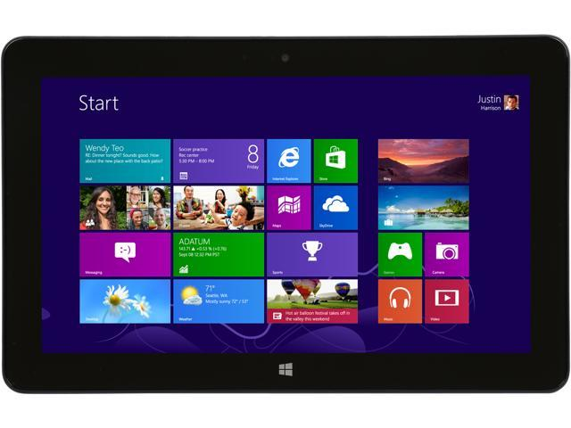 Dell Factory Recertified Venue 11 Pro Business Tablet with Intel Core 4TH Generation i5-4300Y (1.6GHz), 4GB DDR3 Memory, 128GB SSD, Windows 8.1 ...