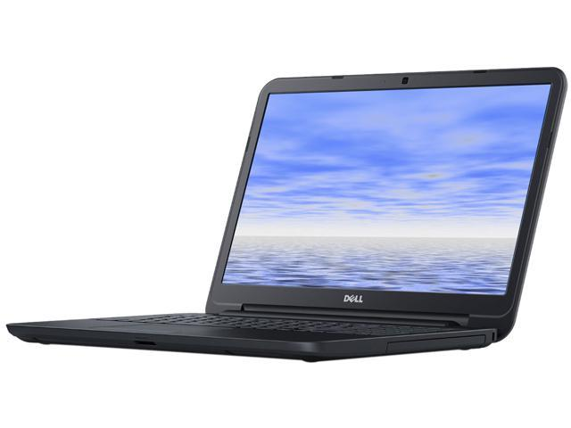 DELL Inspiron 15 i3531-3225BK Notebook Intel Pentium N3530 (2.16GHz) 4GB Memory 500GB HDD Intel HD Graphics 15.6