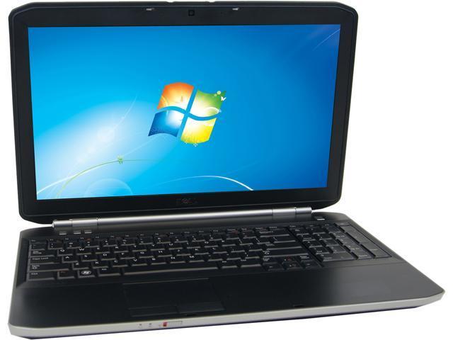 DELL E5520 Notebook Intel Core i5 2.50 GHz 4GB Memory 750GB HDD 15.6