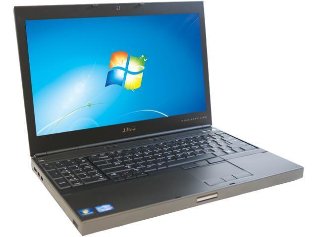 DELL M4600 NotebookIntel Core i7 2.50 GHz 4GB Memory 256GB SSD 15.6