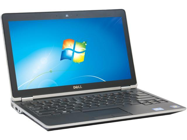 DELL E6220 NotebookIntel Core i5 2.50 GHz 4GB Memory 256GB SSD 12.5