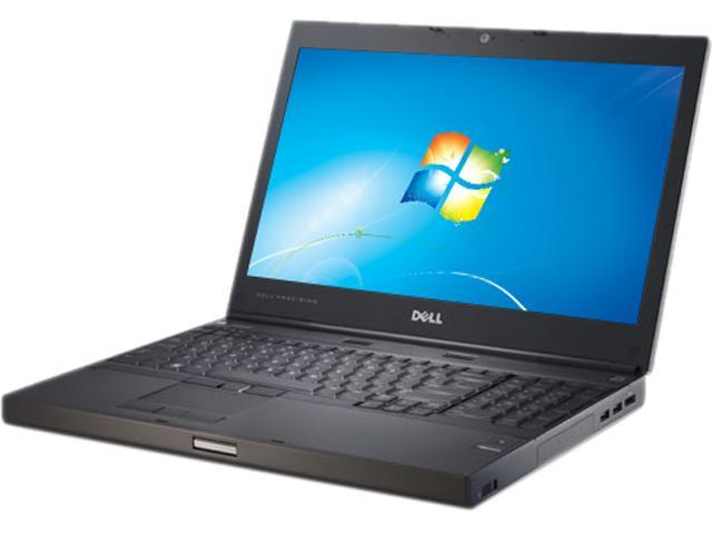 """Dell Precision M4600 [Microsoft Authorized Recertified] 15.6"""" Notebook with Intel Core i7-2820QM Quad Core 2.3Ghz, 8GB RAM, 320GB HDD, DVDRW, ..."""