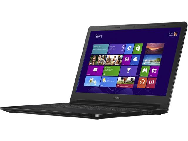 DELL Inspiron 15 i3551-2600BLK Notebook Intel Pentium N3540 (2.16GHz) 4GB Memory 500GB HDD Intel HD Graphics 15.6