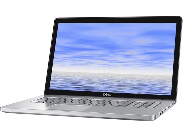 DELL Laptop Inspiron 17 i7746-6875SLV Intel Core i7 5500U (2.40GHz) 16GB Memory 1TB HDD 8GB SSD NVIDIA GeForce GT 845M 17.3