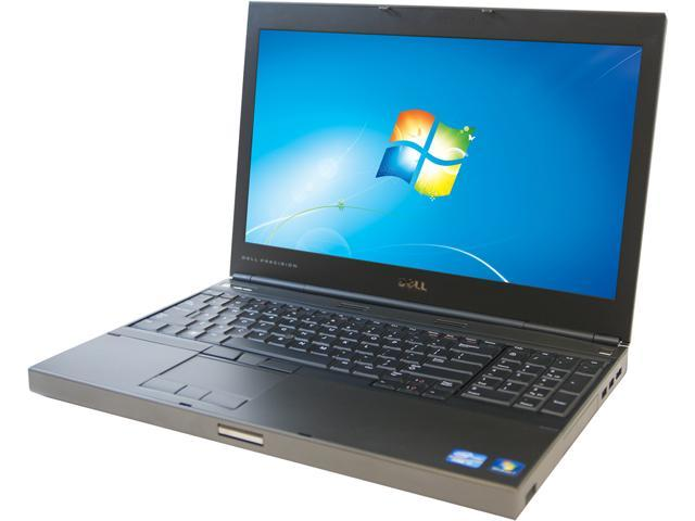DELL M4600 Notebook Intel Core i7 2820QM (2.30GHz) 8GB Memory 750GB HDD 15.6