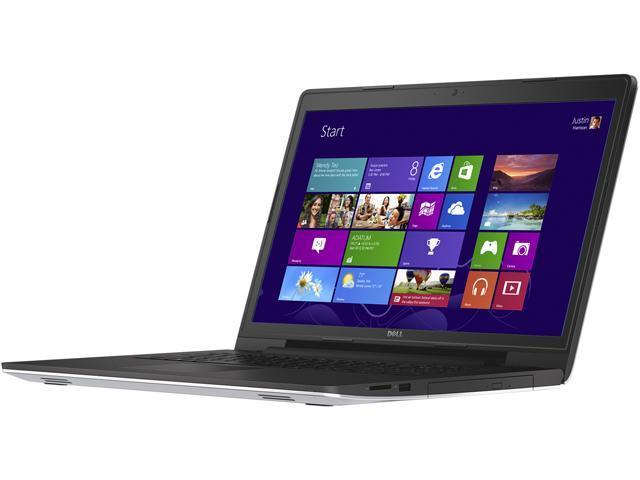 DELL Inspiron17 i5749-1111SLV-Q1O1P-CCADP1 Notebook Intel Core i3 5005U 2.0GHz 4GB Memory 500GB HDD 17.3