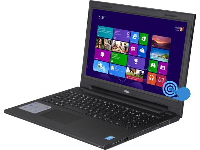DELL Laptop Inspiron 15 I3542-5000BLK Intel Core i3 4030U (1.90GHz) 4GB Memory 500GB HDD Intel HD Graphics 4400 15.6