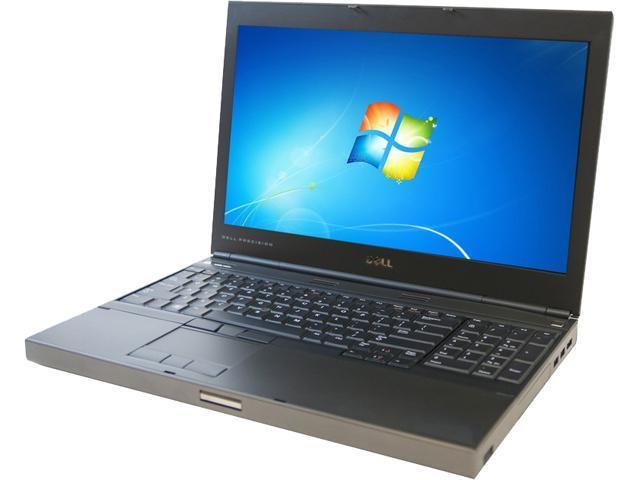 DELL B Grade Laptop Precision M4600 Intel Core i3 2310M (2.10GHz) 4GB Memory 320GB HDD 15.6