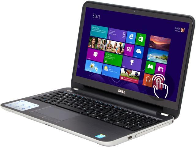 DELL Laptop Inspiron i15RMT-3904sLV Intel Core i3 4010U (1.7GHz) 6GB Memory 500GB HDD Intel HD Graphics 4400 15.6