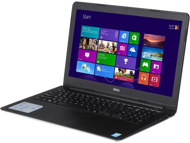 DELL Inspiron 15 i5547-3750sLV Notebook Intel Core i5 4210U (1.70GHz) 8GB Memory 1TB HDD Intel HD Graphics 4400 15.6