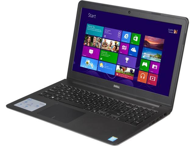 DELL Inspiron 15 i5547-5780sLV Notebook Intel Core i7 4510U (2.00GHz) 8GB Memory 1TB HDD Intel HD Graphics 4400 15.6