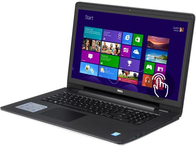DELL Inspiron 17 i5748-8571sLV Notebook Intel Core i7 4510U (2.00GHz) 8GB Memory 1TB HDD Intel HD Graphics 4400 17.3
