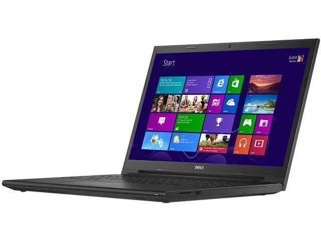 DELL Inspiron i3542-3334BK Notebook Intel Pentium 3558U (1.70GHz) 4GB Memory 500GB HDD 15.6