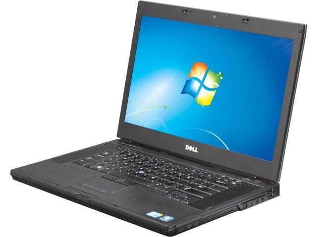 DELL E6510 Notebook Intel Core i7 620M (2.66GHz) 4GB Memory 320GB HDD Windows 7 Professional 64-Bit