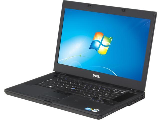 DELL E6510 Notebook Intel Core i7 640M (2.80GHz) 4GB Memory 320GB HDD Windows 7 Professional 64-Bit