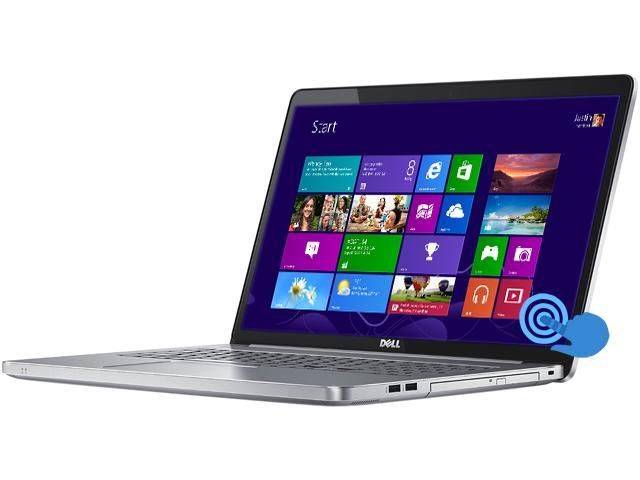 DELL Inspiron 17 i7737T-4994sLV Notebook Intel Core i7 4510U (2.00GHz) 16GB Memory 1TB HDD 8GB SSD NVIDIA GeForce GT 750M 17.3
