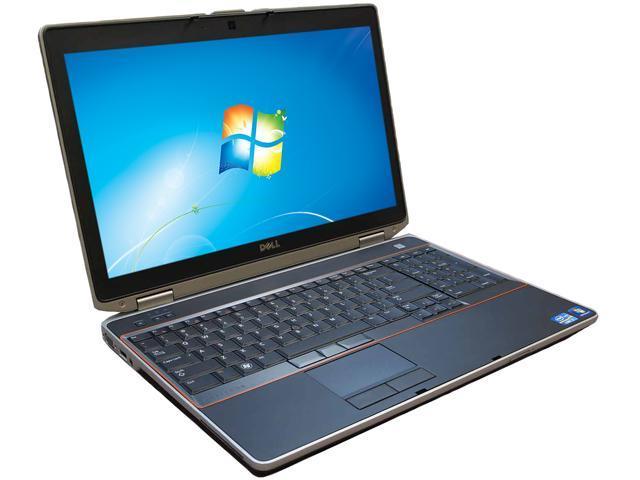 DELL E6520 Notebook Intel Core i7 2.20GHz 8GB DDR3 Memory 500GB HDD Intel HD Graphics 3000 15.5