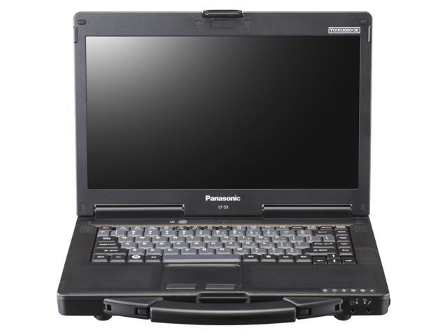 Panasonic Toughbook CF-53SAL72LM Notebook Intel Core i5 3340M (2.7GHz) 4GB Memory 500GB HDD Intel HD Graphics 4000 14.0