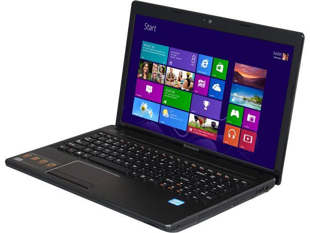 Lenovo Laptop G580 Metal (59359079) Intel Core i3 3120M (2.50GHz) 4GB Memory 500GB HDD Intel HD Graphics 4000 15.6