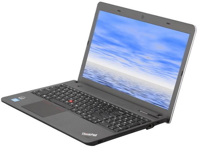 ThinkPad Edge E531 (6885CCU) Notebook Intel Core i3 3110M (2.40GHz) 2GB Memory 320GB HDD Intel HD Graphics 4000 15.6