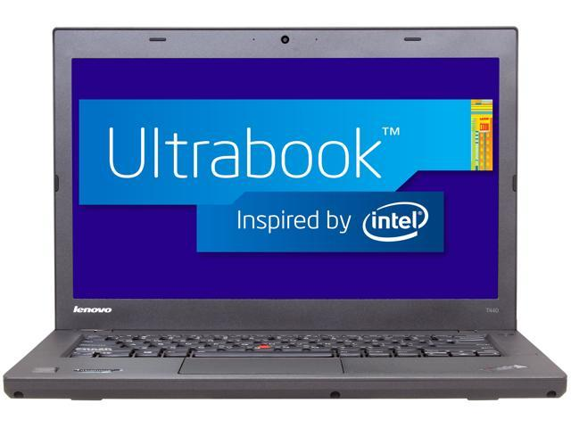 ThinkPad T Series T440 (20B6006DUS) Intel Core i7 4600U (2.10GHz) 8GB Memory 256GB SSD HDD 14