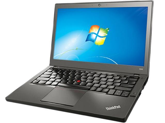 ThinkPad X Series X240 (20AL009CUS) Intel Core i7 4600U (2.10GHz) 8GB Memory 256GB SSD 12.5