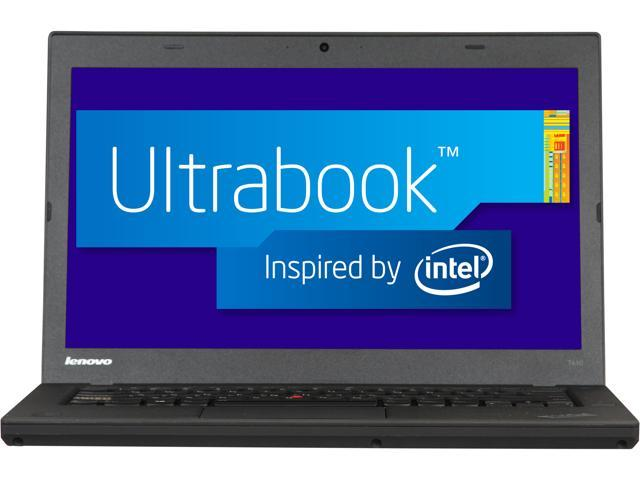 ThinkPad T Series T440 (20B6005BUS) Intel Core i5 4300U (1.90GHz) 4GB Memory 500GB HDD 14