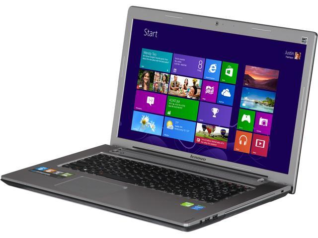 Lenovo IdeaPad Z710 (59406328) Notebook Intel Core i7 4700MQ (2.40GHz) 8GB Memory 1TB HDD NVIDIA GeForce GT 745M 17.3