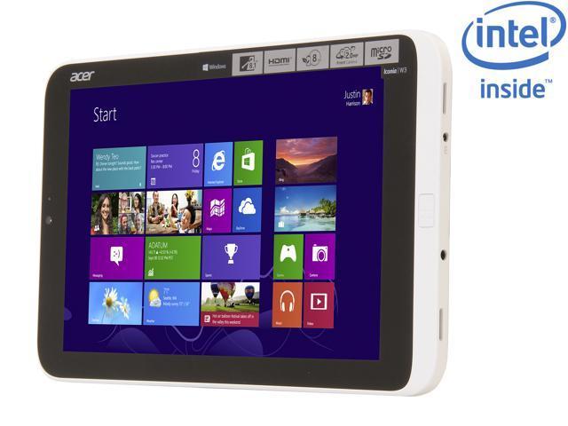 Acer Iconia Tab W Series W3-810-1416 Intel Atom 2GB DDR2 Memory 64GB 8.1