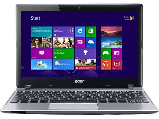 Acer Aspire V5-131-2497 (NX.M8AAA.004) Notebook Intel Celeron 1017U (1.60GHz) 4GB Memory 500GB HDD Intel GMA HD Graphics 11.6