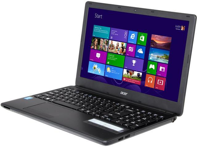 Acer Aspire E1-510-4487 Notebook Intel Pentium N3520 Quad-Core Processor 2.17GHz 4GB Memory 500GB HDD Intel HD Graphics 15.6