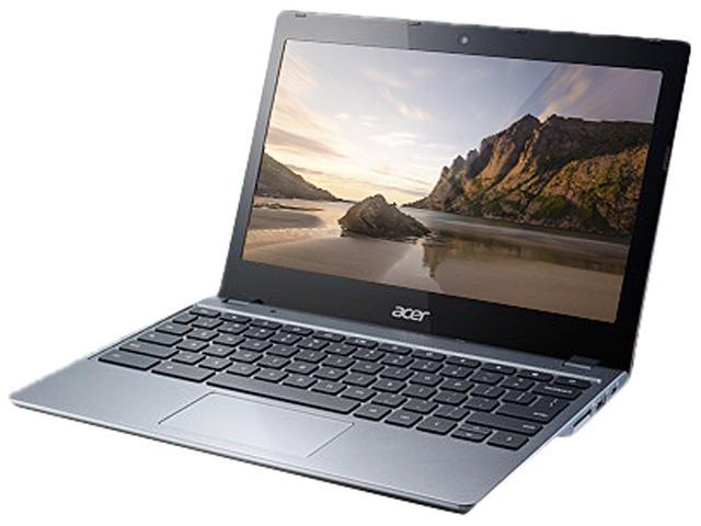 Acer C720-2844 (NX.SHEAA.004) Chromebook Intel Celeron 2955U (1.40GHz) 4GB Memory 16GB SSD 11.6
