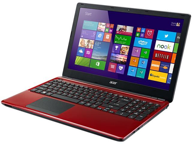 Acer Aspire E1-532-2635 Notebook Intel Celeron 2957U (1.40GHz) 4GB Memory 500GB HDD Intel HD Graphics 15.6