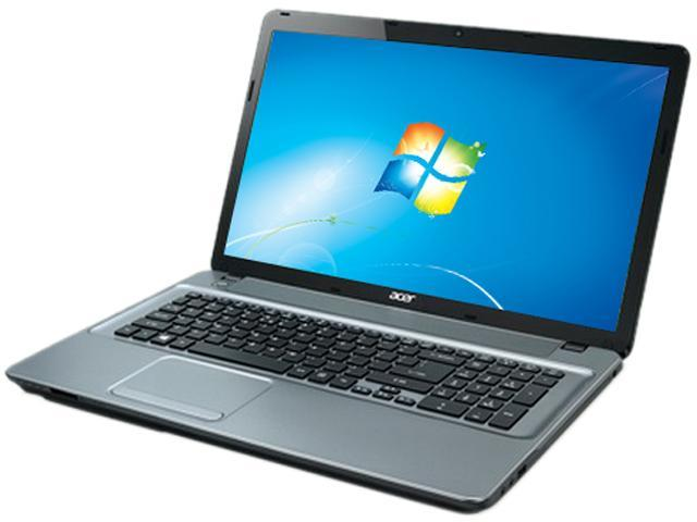 Acer Aspire E1-771-6458 Notebook Intel Core i3 3110M (2.40GHz) 6GB Memory 500GB HDD Intel HD Graphics 4000 17.3