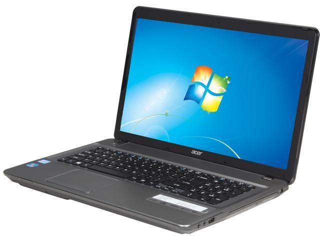 Acer Laptop Aspire E E1-771-6496 Intel Core i5 3230M (2.60GHz) 6GB Memory 500GB HDD Intel HD Graphics 4000 17.3